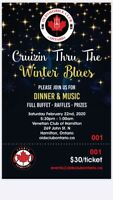 Winter club dinner & music