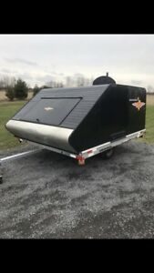Snowmobile  enclosed trailer