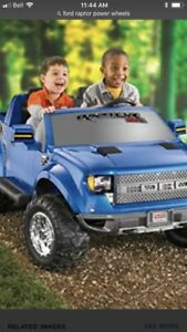 ISO Ford raptor power wheels truck