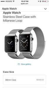 Iwatch stainless steel upgraded 7000 series