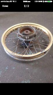 Yamaha YZ125J '82 Rear Wheel