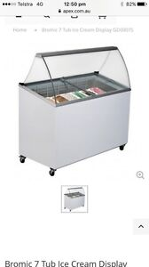 Bromic commercial ice cream freezer Scarborough Redcliffe Area Preview