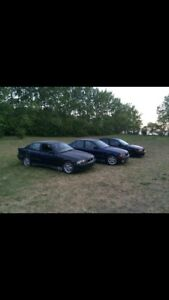 2 running driving BMW's $1700 or trade