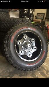 Tire and wheel package!