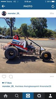 Wingless sprint, swap, speedway Alice Springs Alice Springs Area Preview