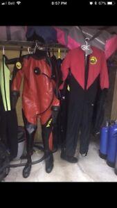 Mens Large Dry Suit