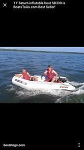 Inflatable boat only used 2 times