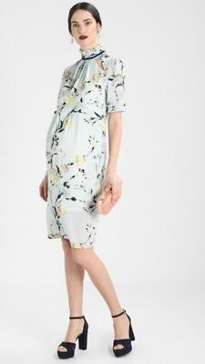New Hope & Ivy Asos Maternity Pencil Dress High Neck Sold Out 8