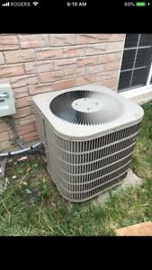 Goodman Central air condition. Very good working