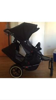 Phil and Teds Explorer Double pram  Rutherford Maitland Area Preview
