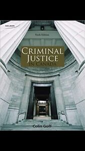 First year justice studies textbooks (Guelph humber)