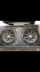 "10"" Kicker Subs w/Amp"