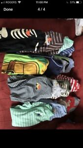 Baby Boy clothing sizes 6-9 months