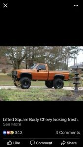 Looking for a square body Chevy or gmc