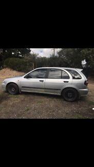 1998 Nissan pulsar hatchback
