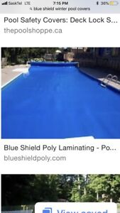 Blue Shield Insulated Pool Cover
