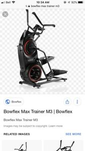 WANTED: Bowflex Max Trainer