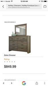 Dresser with mirror used only few times