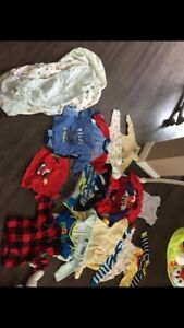 Baby boy clothes 0-3/3-6