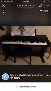 Kurzweil Mark10 Ensemble Grand Piano, Excellent Condition