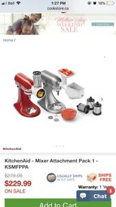 Kitchen Aid - STAND MIXER ATTACHMENT PACK