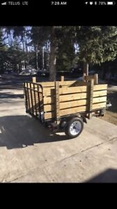 Quad and trailer for trade
