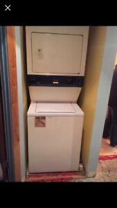 Apartment sized washer and dryer combo