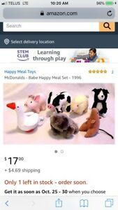 Looking for old happy meal toys