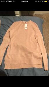 Pink garage sweater