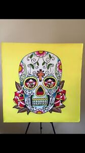 Skull painting Berwick Casey Area Preview