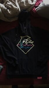 Pink Dolphin Neon hoodie Large
