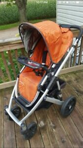 Uppababy vista stroller and accessories