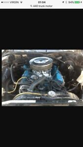 Dodge 440 -4barrell with 727 trans