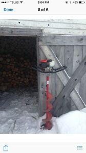 "8"" Eskimo Gas powered Ice Auger"