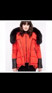 Rudsak manteau Chapais rouge 500$