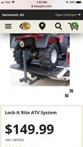 ATV lock down system