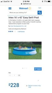 Family Swimming Pool (never used) $125 OBO