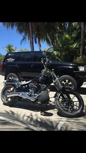 *****2014 Harley Davidson soft tail breakout consider swap for boat Noosaville Noosa Area Preview