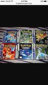 Looking for these Pokemon games