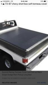 WANTED sort or hard tonneau cover for short box chevy