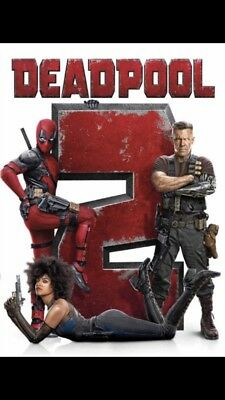 Deadpool 2 (DVD,2018) Action, Comedy, S/Fiction* PRE-ORDER SHIPS After Release