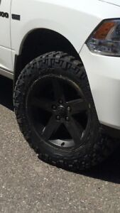 Nitto trail grappler tires with Dodge Ram rims