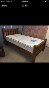 King single bed and mattress Thomastown Whittlesea Area Preview