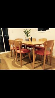 6 seat dining table Morningside Brisbane South East Preview