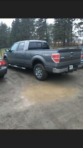 2009 F150 4x4 base with appearance and towing package