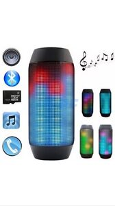 PORTABLE BLUETOOTH 3.0 SPEAKER BUILT IN LED LIGHT Yokine Stirling Area Preview