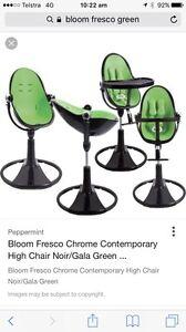 Bloom Fresco 4 in 1 High Chair Green Tarneit Wyndham Area Preview