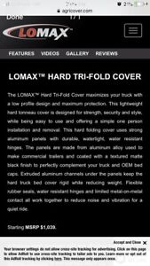 Lo-max trifold tonneau cover barely used