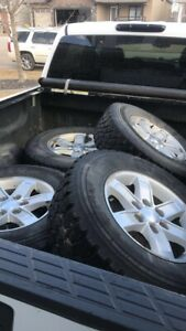GMC rims with tires