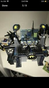Lego Batman buildings and vehicles